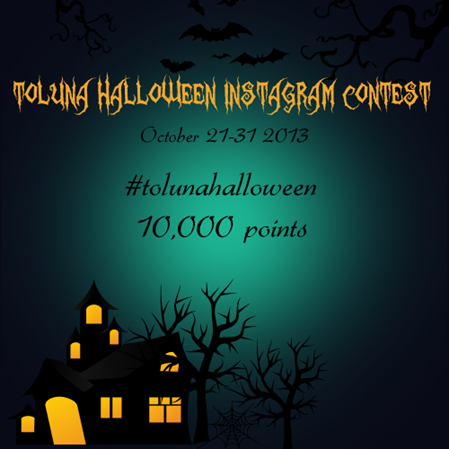 Instagram Halloween Contest
